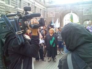 Agneta Lindblom Hulthén, Journalistförbundet