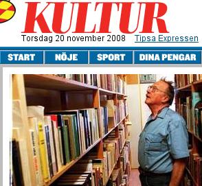 Jan Myrdal i Expressen