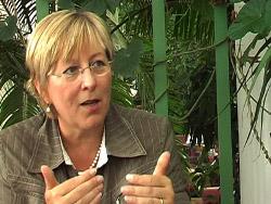 Eva Lichtenberger, österrikisk MEP