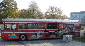 Piratbuss S23K i Belgrad