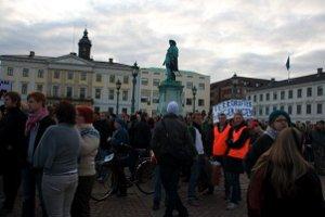 Demonstration mot FRA i Göteborg