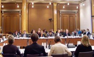 Ipred-utfrågning i riksdagen