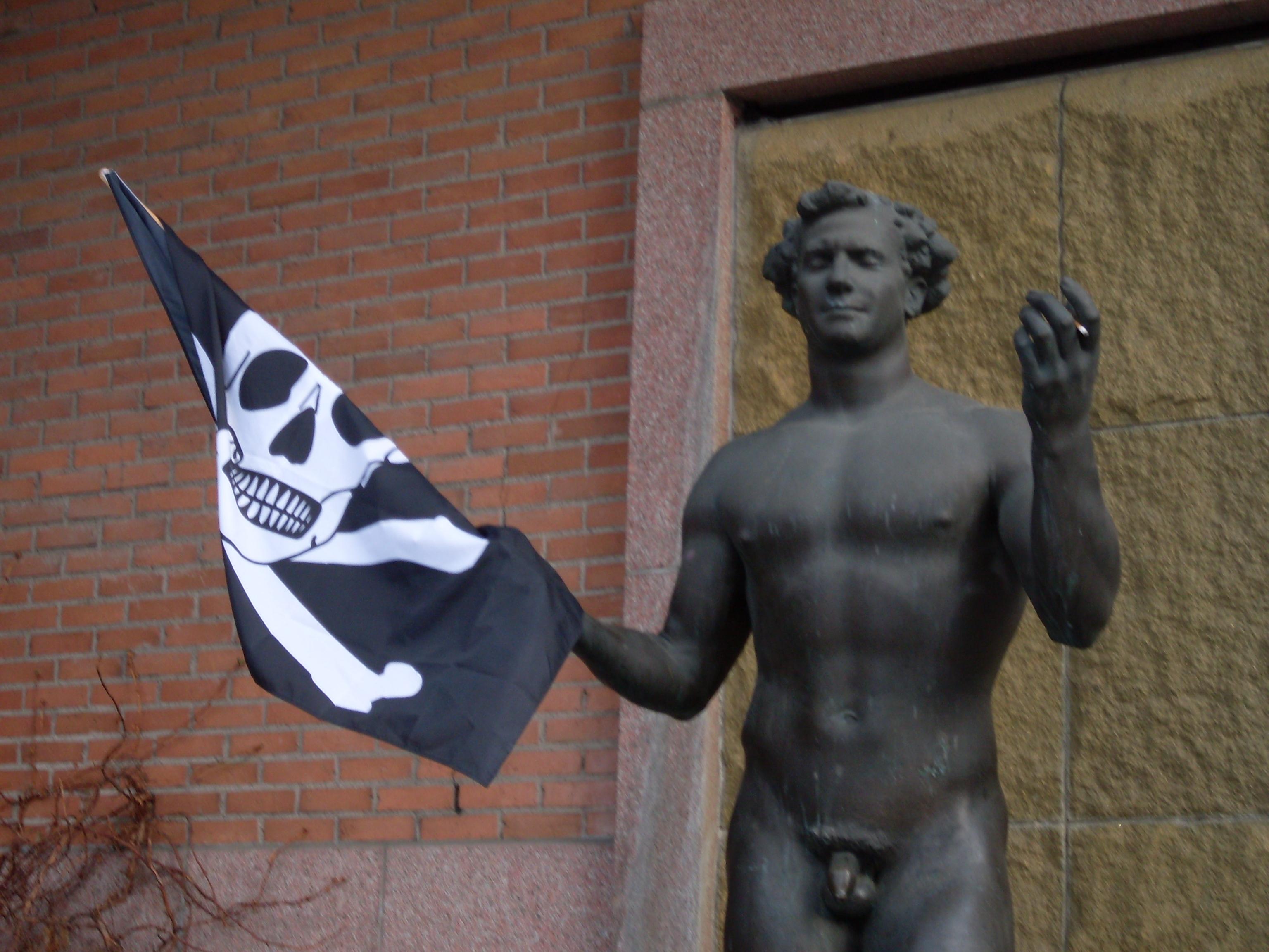 Piraternas frihet galler bara vissa