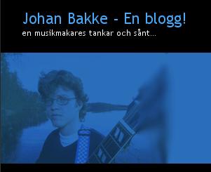 Johan Bakke, musikmakare