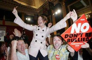 Irland röstade nej