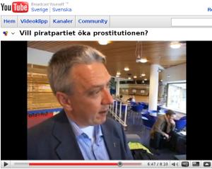 Debatt med KD om prostitution