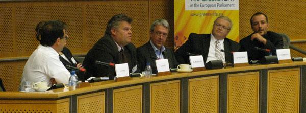 Telekomseminarium i EU-parlamentet 7 sept 2009