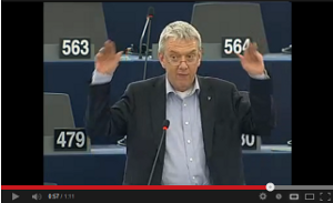 Se mitt tal i EU-parlamentet (1 min)