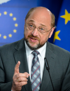 The European Parliament's President Martin Schulz thinks it is okay to treat emails from citizens as spam