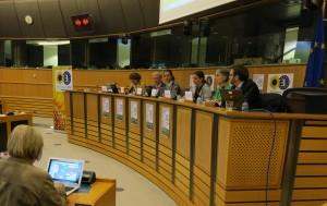 Seminarium om CRM-direktivet i EU-parlamentet igår