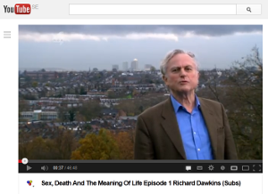 """Sex, Death, and the Meaning of Life"" with Richard Dawkins"