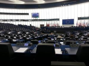 EU-kommissionen företräddes av kommissionären för hälsofrågor, som råkade vara där sedan debatten innan
