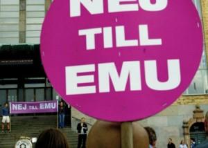 Idag för 10 år sedan sa svenska folket nej till euron. Det var ett mycket klokt beslut.