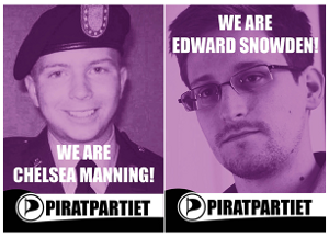 We are Chelsea Manning --- We are Edward Snowden