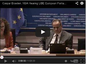 Se EU-parlamentets utfrågning av säkerhetsexperten Caspar Bowden (63 min)