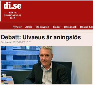 Läs debattartikeln hos Dagens Industri