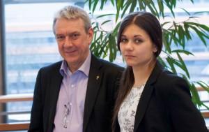Jag och Amelia vill fortsätta representera Piratpartiet i EU-parlamentet, och fortsätta kämpa för friheten på nätet och i samhället