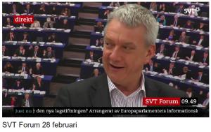 Se debatten i SVT Forum från 9:30 till 11:00