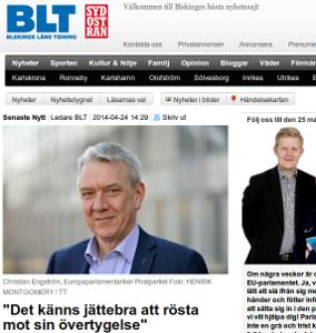 Läs intervjun hos BLT