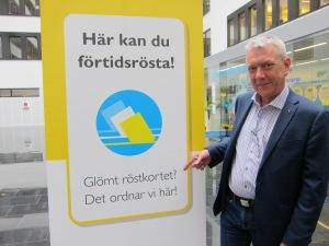 Förtidsösta på Piratpartiet idag och kryssa gärna mig: Christian Engström