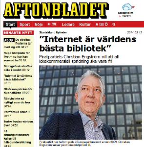 Läs intervjun hos Aftonbladet