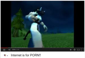 """Lyssna på nätklassikern """"The Internet is for Porn"""""""