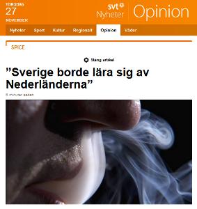 Läs min debattare hos SVT Opinion