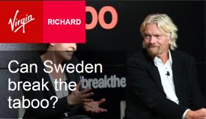 Richard Branson skriver om svensk narkotikapolitik på sin blogg