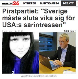 Läs vår debattare hos Nyheter24