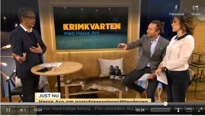 Se inslaget från TV4 (från 4:15 in i klippet)