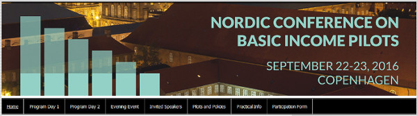 Nordic conference on Basic Income in Copenhagen