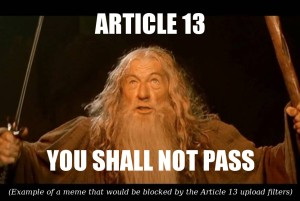 Article 13 – You shall not pass!