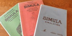 Simula-läroböcker från 80-talet